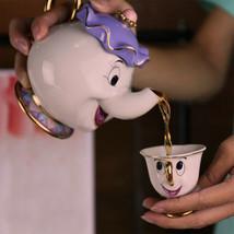 Beauty And The Beast Tea Set Mrs Potts Chip Tea Cup Mug One Set Christma... - $41.99+