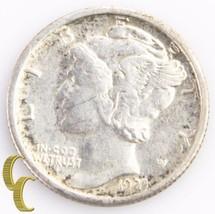 1925-S Mercury Dime (Extra Fine+, XF+) Key Date San Francisco 10c EF+ KM... - $88.11