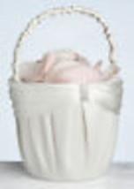wedding flower girl basket cream color  - $11.99