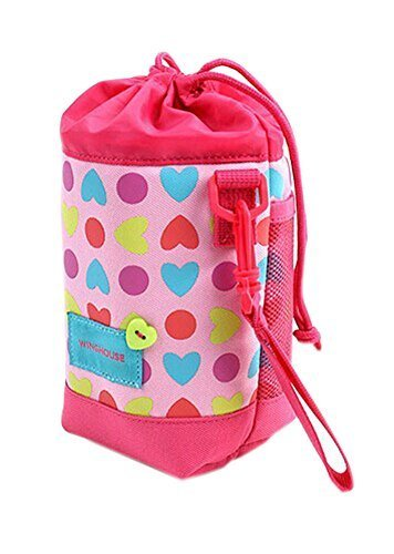 Lovely Baby Bottle Tote Bag/Keep Warm (191010CM), Colorful Heart