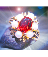HAUNTED RING ROYAL BLOOD SUCCESSFUL LOVE EXTREME MAGICK OFFERS ONLY 7 SC... - $99,007.77