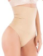b106a23b8c Youloveit Women High Middle Waist Thong Shapewear Panty Waist Cincher Tu...  - · Add to cart · View similar items