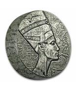 2017 Republic of Chad 5 oz Silver Queen Nefertiti - $255.00