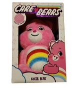 """2020 PINK Care Bears 14"""" Plush CHEER BEAR With EXCLUSIVE CARE COIN - $37.21"""