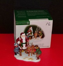 "Dept. 56 Christmas In The City ""Santa In The City"" New In Box - $23.27"