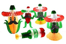 Mexican Fiesta Party Pack Decorations Set. great for Cinco de Mayo and a... - $18.81