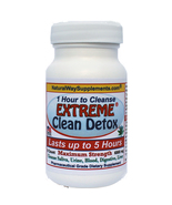 Extreme Clean Detox™ Takes One Hour to Cleanse, Cleanse Lasts Up To 5 Hours - $19.48