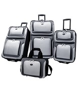 U.S Traveler New Yorker Lightweight Expandable Rolling Luggage 4-Piece S... - $85.24