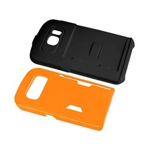 REIKO SAMSUNG GALAXY S6 CANDY SHIELD CASE WITH CARD HOLDER IN ORANGE - $9.34