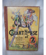 The Giant Horse of OZ by Ruth Thompson 1928 Illustrated by John Neill - $173.75