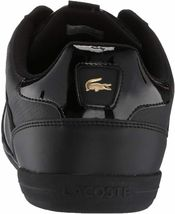 Lacoste Men's Leather Athletic Sport Giron 120 CMA Sneakers Shoes Black Gold image 4