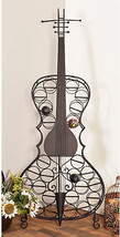 Eclectic 68 X 27 Inch Metal 26-Bottle Cello Wine Rack By  - $266.90