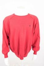 Vintage Polo Ralph Lauren Men's Sweatshirt Larege Red Crewneck Pullover ... - $35.63