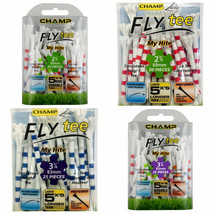 Champ Zarma My Hite Fly Golf Tees. 69 or 83 mm in both colours - $9.83