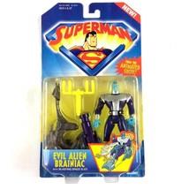 Superman Animated Evil Alien Brainiac Action Figure 1996 Sealed VTG - $19.75