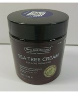 New York Biology Tea Tree Oil Face Cream for Acne Prone Skin Care - $13.36