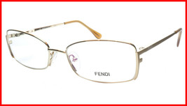 FENDI Eyeglasses Frame F960 (714) Women Metal Gold Italy Made 52-16-135, 31 - $177.57