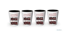 I'm a Occupational Therapist shot glass- Not a Miracle Worker -Occupatio... - €20,79 EUR