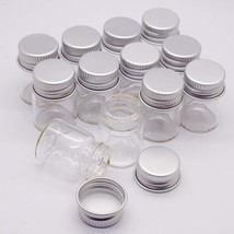 Mini Glass Jars With Lids Small Honey Container Clear Storage Kitchen X1... - €9,65 EUR
