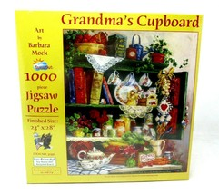 Grandma's Cupboard 1000 pc Jigsaw Puzzle by SunsOut - $19.79