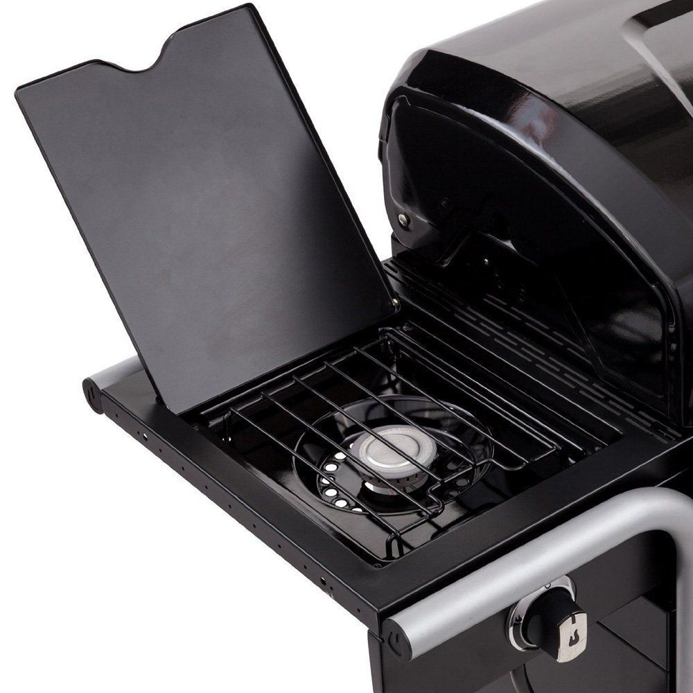 "CharBroil 420 540 SQ"" 3-Burner 40000Btu Gas2Coal Hybrid Grill + Free Grill Cover"