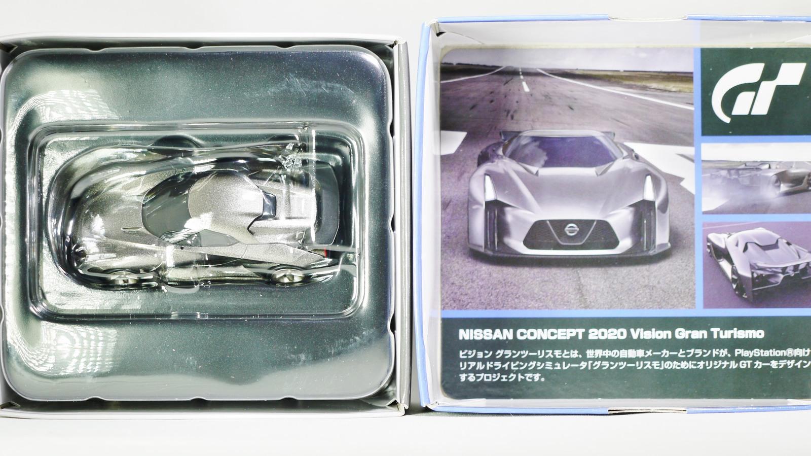 TOMICA TOMYTEC VINTAGE NEO GT NISSAN CONCEPT 2020 Vision Gran Turismo Grey