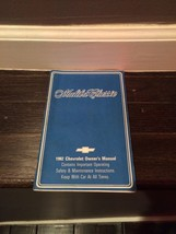 1982 Chevrolet Monte Carlo Owners Manual Original - $17.81