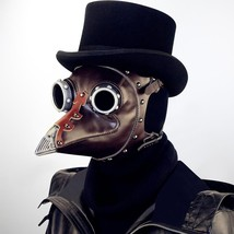 Steampunk Plague Bird Mask Halloween Plague Doctor Cosplay Prop Gothic S... - £54.09 GBP