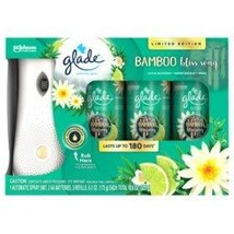 Glade Automatic Spray & 3 Refills Bamboo Bliss Song - $55.43
