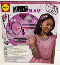Alex Glitzy Glam 90 PCS Head 2 Toe Nails Hair Accessories Ages 8+ image 3