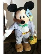 Disney Mickey Mouse Easter Greeter Basket Easter Eggs - $35.00
