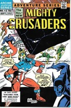 Adventures of The Mighty Crusaders Comic Book #13 Archie 1985 NEAR MINT - $5.94