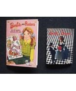 Vintage Barbie Bazaar and Barbie Posters Miniature Diorama Excellent Con... - $18.69