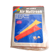 NEW Vintage Tawn Inflatable Pool Float Air Mattress raft RARE red 27x72 ... - $40.00