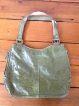 Kenneth Cole Reaction Green Leather Handbag Purse - $1,000.00