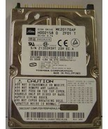 "10% off 2+ Toshiba MK2017GAP HDD2158 20GB 2.5"" IDE Drive Tested Free US ... - $16.95"