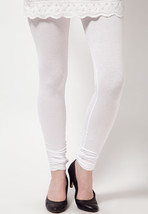 PURE WHITE STRETCHABLE LEGGING SEXY WOMEN FASHI... - $11.29