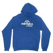 Football Mom Shirt Team Sports Pride Momager Unisex Royal Blue Hoodie Sweatshirt - $24.95+