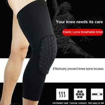 Breathable Knee Pads Sports Long Sleeve Colorable Knee Support Protection - $6.99