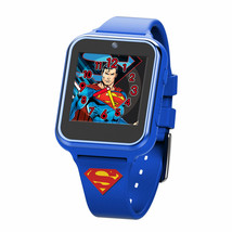 Superman Symbol Accutime Interactive Kids Watch Blue - $44.98