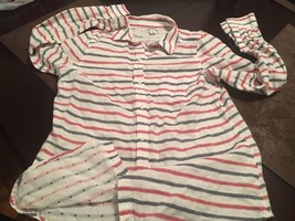 Old Navy Striped Button Up Shirt Womens Small Petite - $14.50