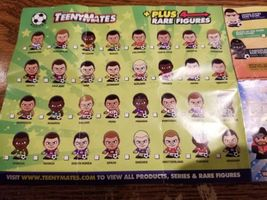 2018 INTERNATIONAL SOCCER TEENYMATES SERIES 1 - PICK YOUR SOCCER TEAM FIGURE  image 4