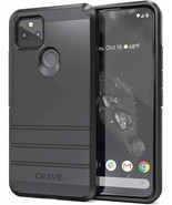 Pixel 4a 5G Case Strong Guard Protection Series Cover SLIM LIGHTWEIGHT D... - $17.81