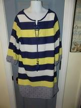 Sequin Hearts Girls Multi Colored Striped Dress Size 12 Girl's EUC - $21.84