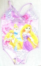 Disney Tangled Rapunzel 1pc Princess Tutu Swim Bathing Suit Swimsuit Gir... - $4.94