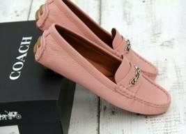 COACH Crosby Driver Moccasins Petal Colorway New In Box Fast Ship Size 9.5  - $97.02