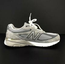 NEW BALANCE 990 Encap Men's Size 15 Gray & White Running Sneaker Made USA - $108.90