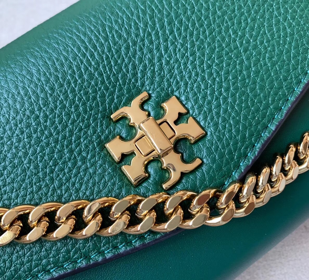 Tory Burch Kira Mixed-Materials Leather Belt Bag