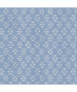 Paisley Print Wallpaper Blue Norwall Wallcovering PP35520 - $34.99