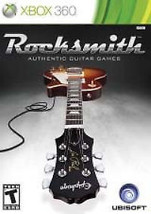 Rocksmith Disc Only No Real Tone Cable (Microsoft Xbox 360, 2011) - $8.59